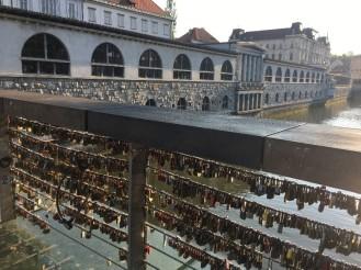 The Butcher's Bridge, lovers padlocks