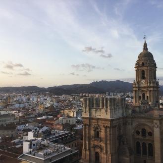 View from AC PALACIO HOTEL