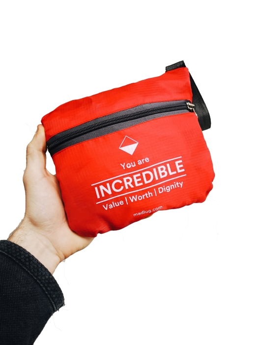 Bag given to children in care